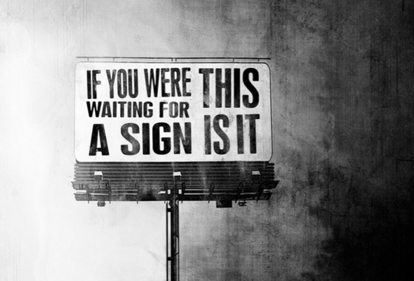 sign from universe